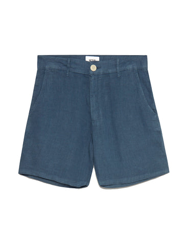 Holm Shorts- Folkstone Grey Linen
