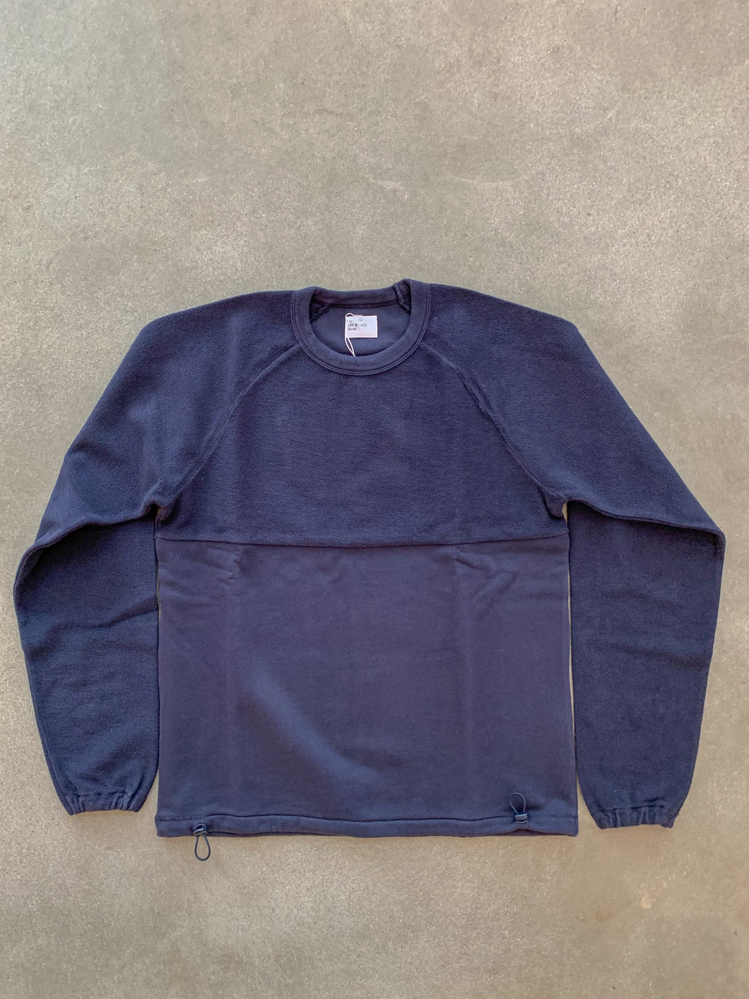 Le Ribless Sweat- Navy