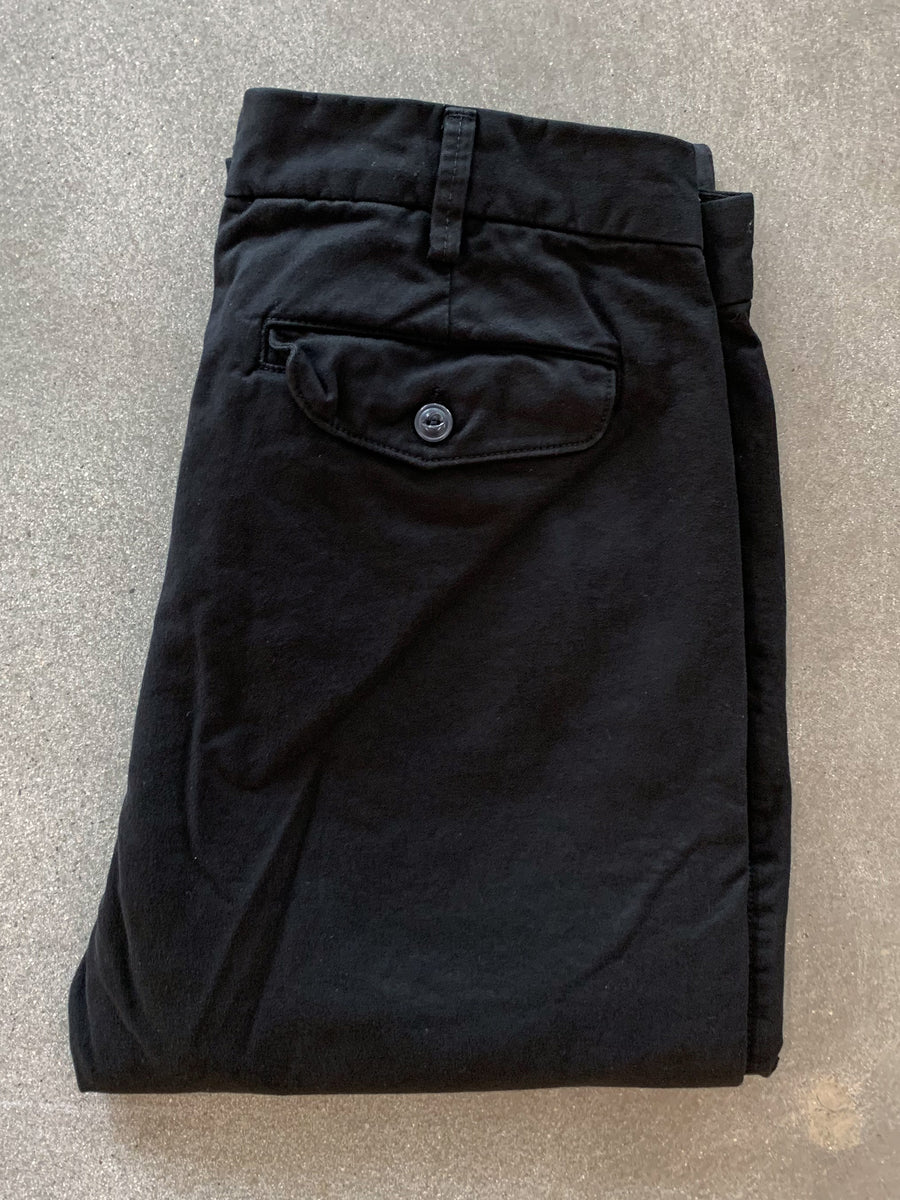 Bulldog Twill Trouser- Black