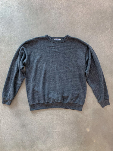 Big C/N Sweater- Heather Black