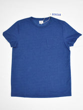 BT-01 Pocket Tee- Indigo Solid