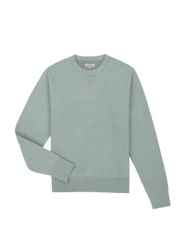 Crew Neck Fleece- Agave Green