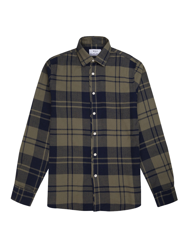 Kramer Shirt- Moss Check