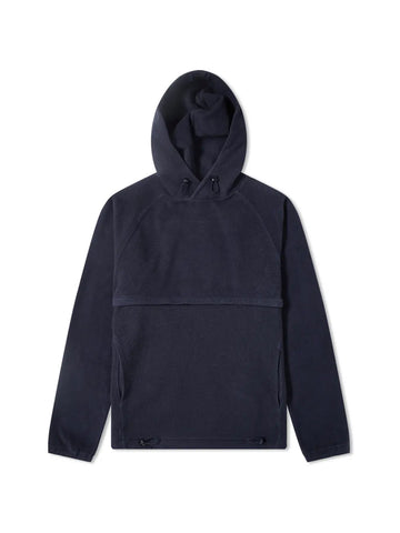 Le Ribless Hoodie- Navy