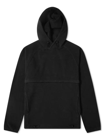 Le Ribless Hoodie- Black