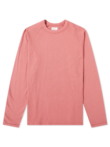 Le Long Sleeve- Raspberry