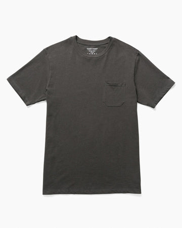 Midweight Crew Tee- Charcoal
