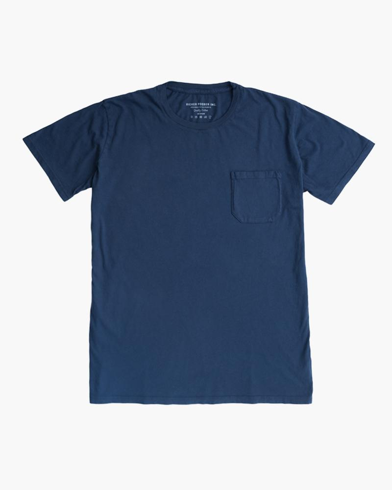 Pocket Tee- Navy