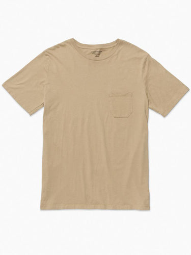 Pocket Tee- Tan