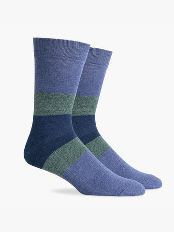 Chief Socks- Violet Navy