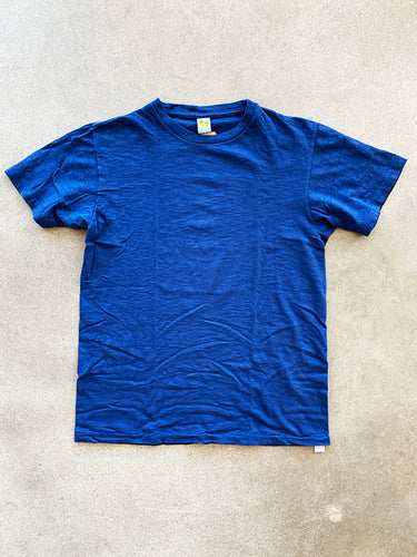 Rolled Tee- Blue