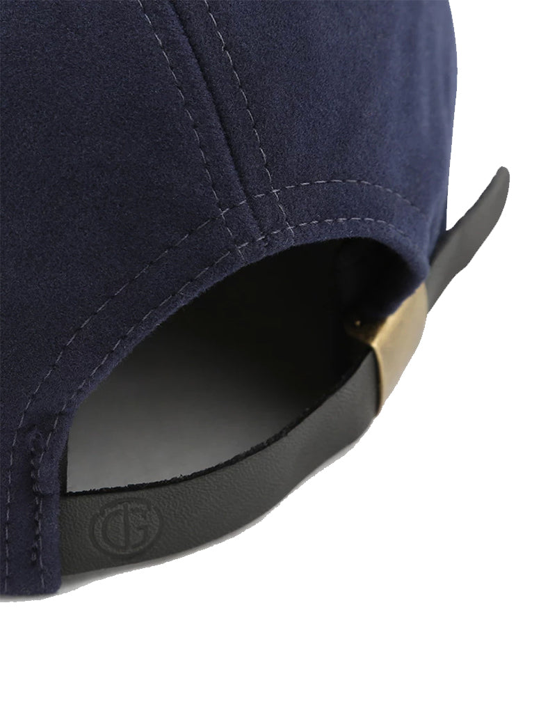 6 Panel Hat- Navy Moleskin