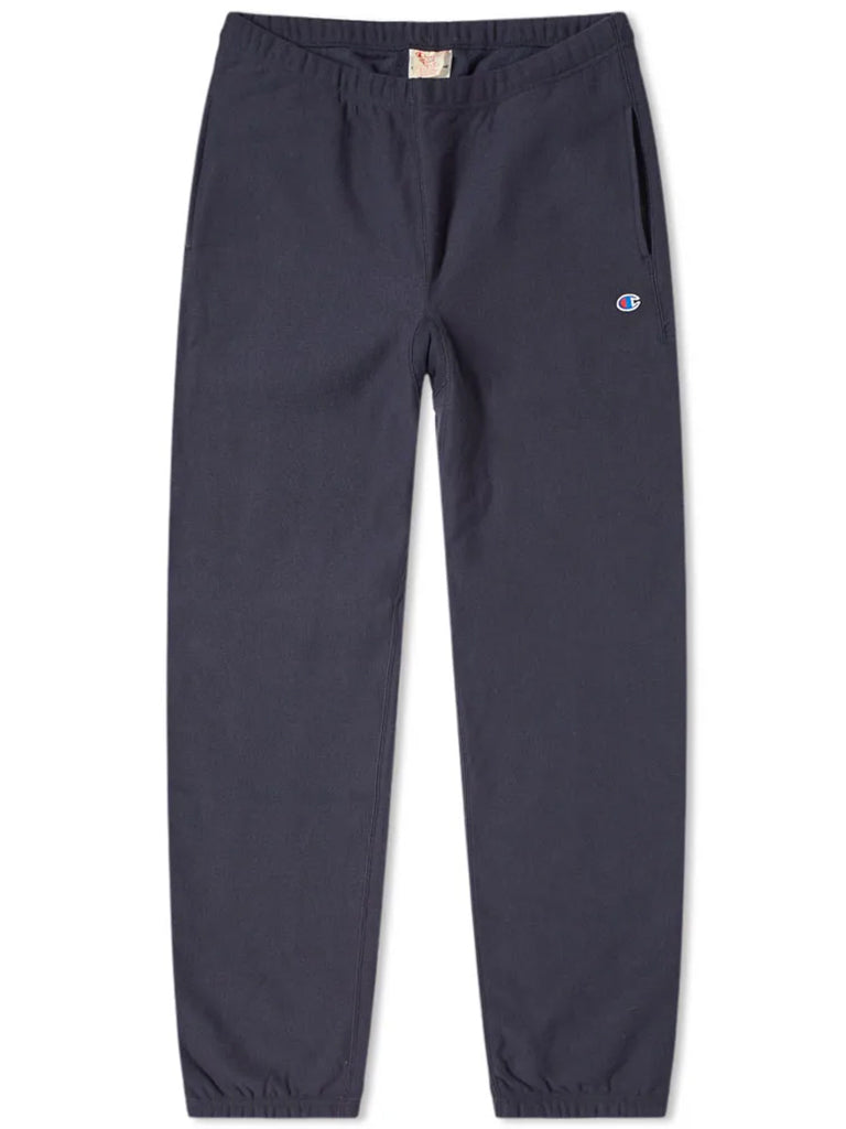 Reverse Weave Joggers- Navy