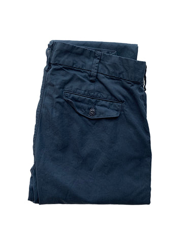 Light Twill Trouser- Marine