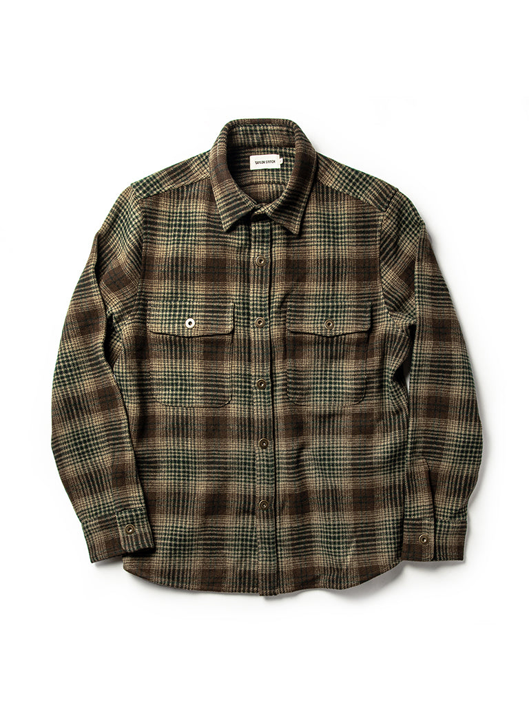 The Explorer Shirt- Tan Plaid
