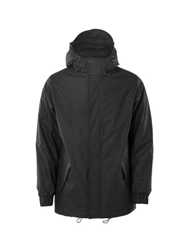Quitled Parka- Black