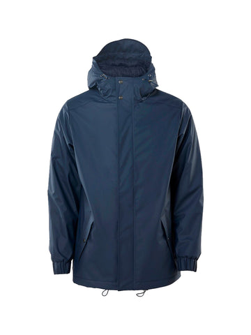 Quitled Parka- Blue