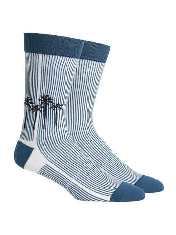 Marina Socks- Blue/Black
