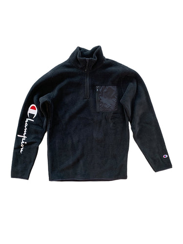Polartec Half Zip Top- Black
