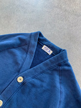 8 OZ Pigment Dyed Cardigan- Navy