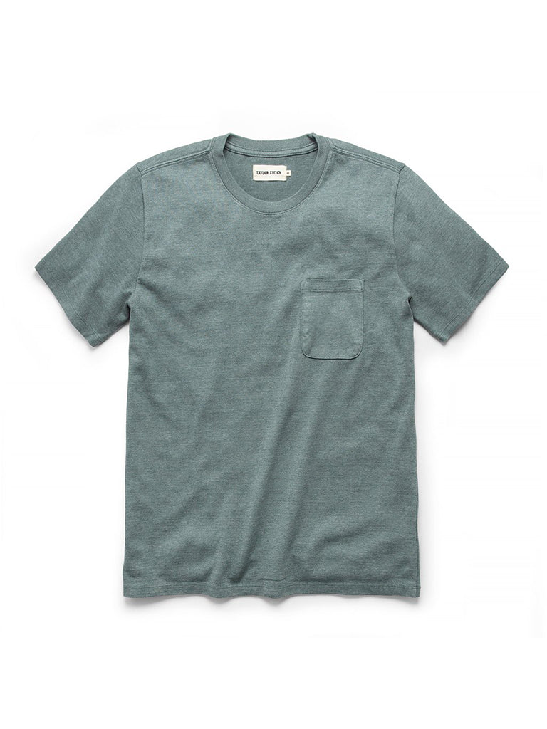 Heavy Bag tee- Seafoam