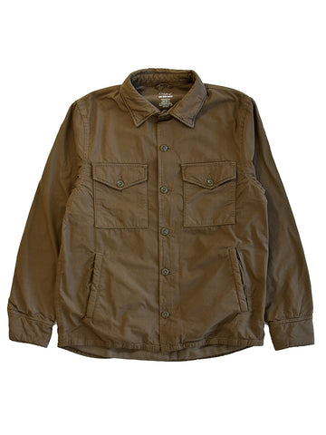 Fleece Lined Shirt Jacket- Barley