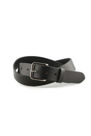 Daily Belt- Black with Stainless Hardware