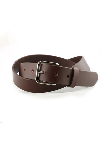 Daily Belt- Cognac with Stainless Hardware