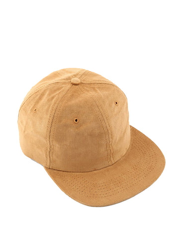 6 Panel Hat- Corduroy Camel