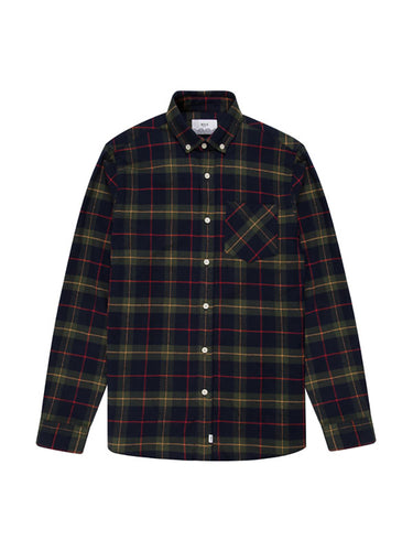 Thirsk Shirt- Navy Check