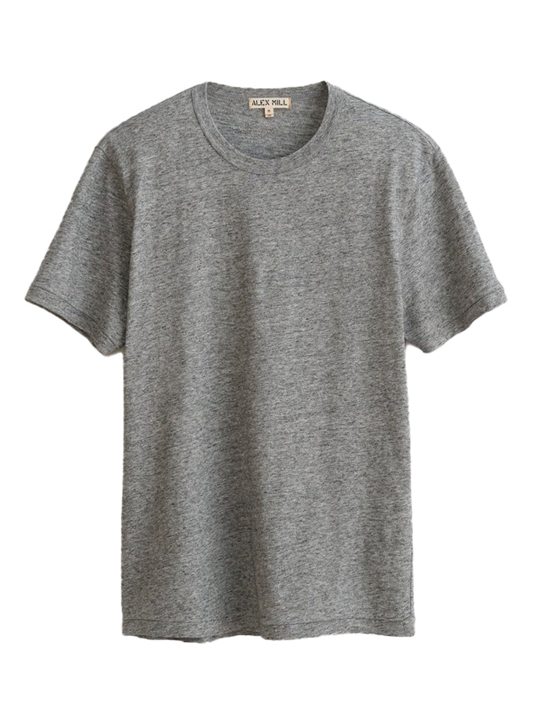 Standard T-Shirt in Slub Cotton- Heather Grey