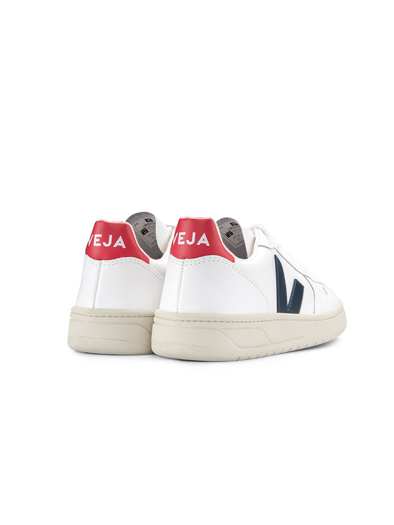 V-10 Leather-Extra White Nautico Pekin