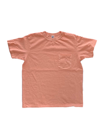 Pigment Dyed Crew Pocket Tee- Sunrise