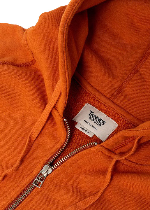 Woodlands Full-Zip Hoodie- Terra