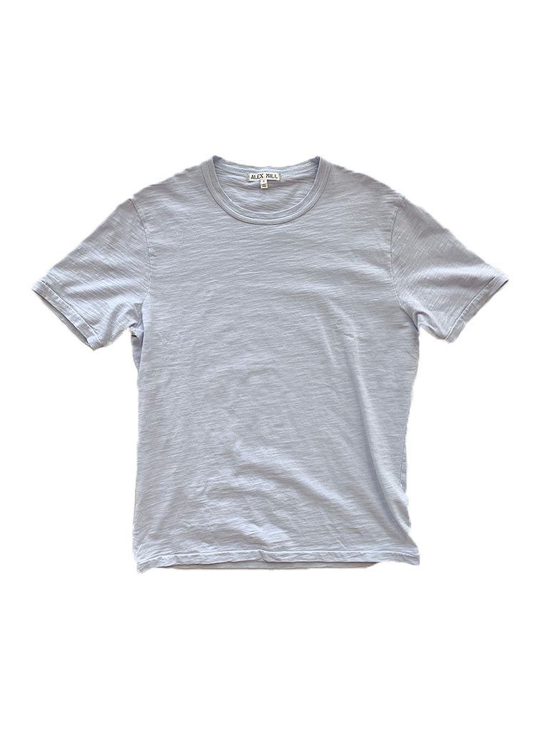 Standard T-Shirt in Slub Cotton- Calm Blue