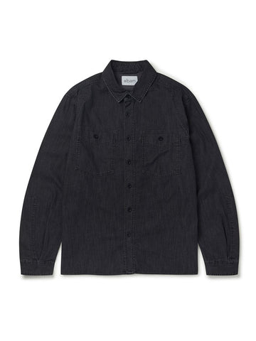 Carpenters Work Shirt- Black