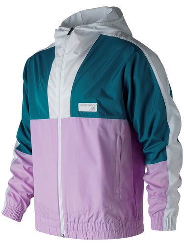 NB Athletics Windbreaker- Dark Neptune