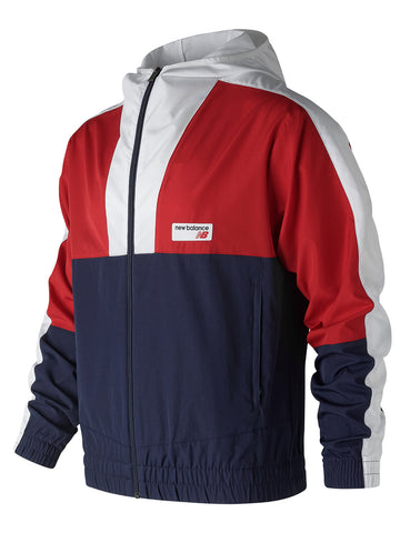 NB Athletics Windbreaker- Team Red
