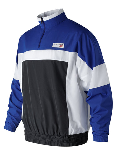 NB Athletics Windbreaker Pullover- Team Royal