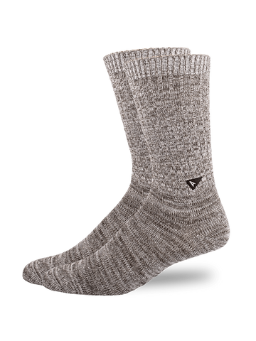 Casual Twisted Sock- Grey Mix