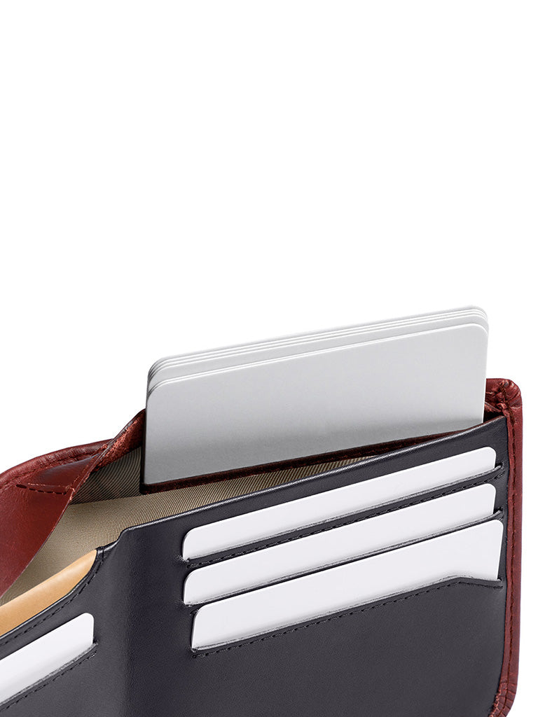 Hide & Seek Wallet- Red Earth