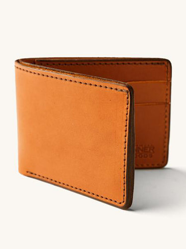 Utility Bifold- Saddle Tan