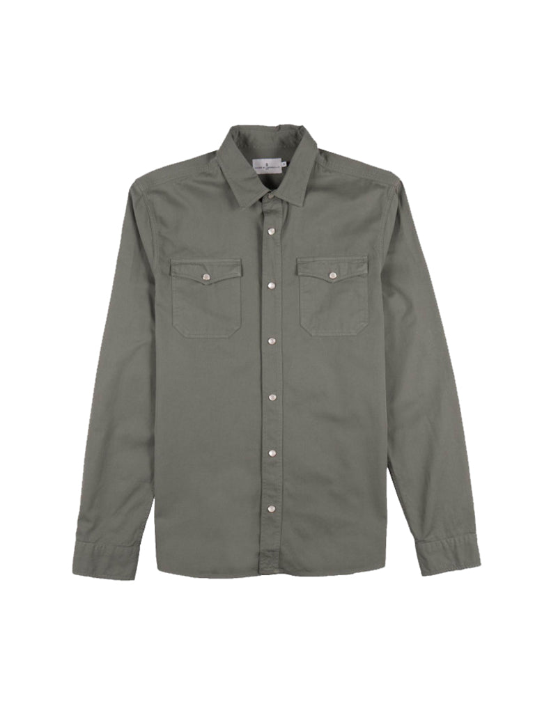 Jacob Shirt- Green Algea