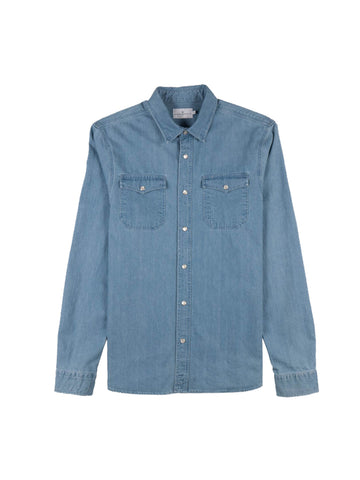 Jacob Shirt- Blue Denim