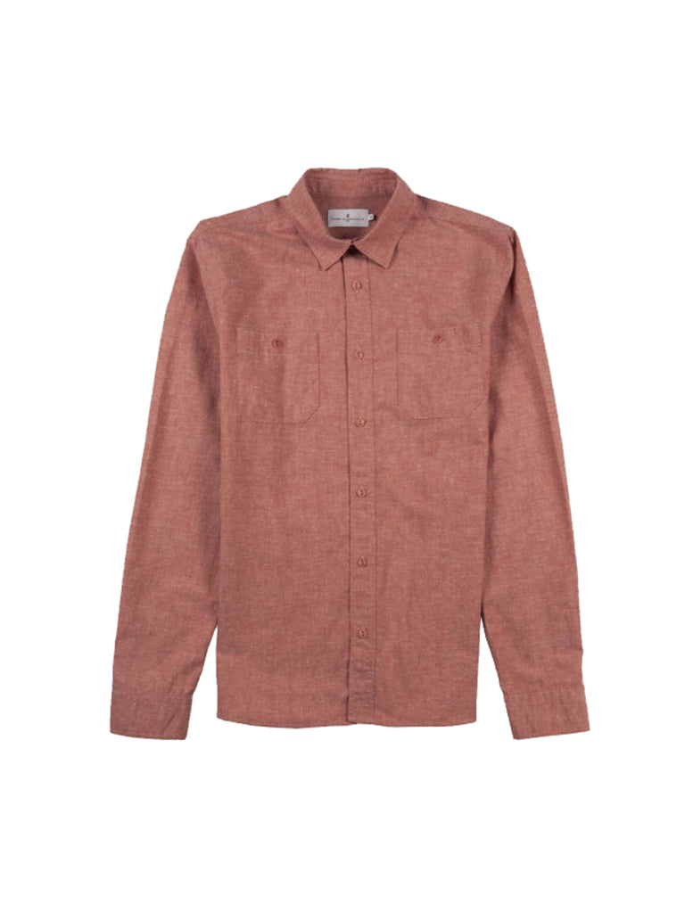 Klotaire Shirt- Terracota