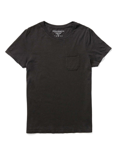 Pocket Tee- Black