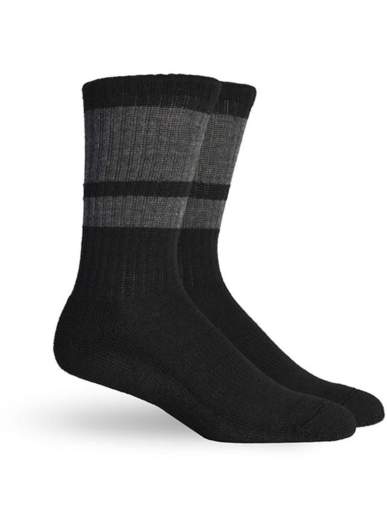 Sierra Sock- Black Charcoal