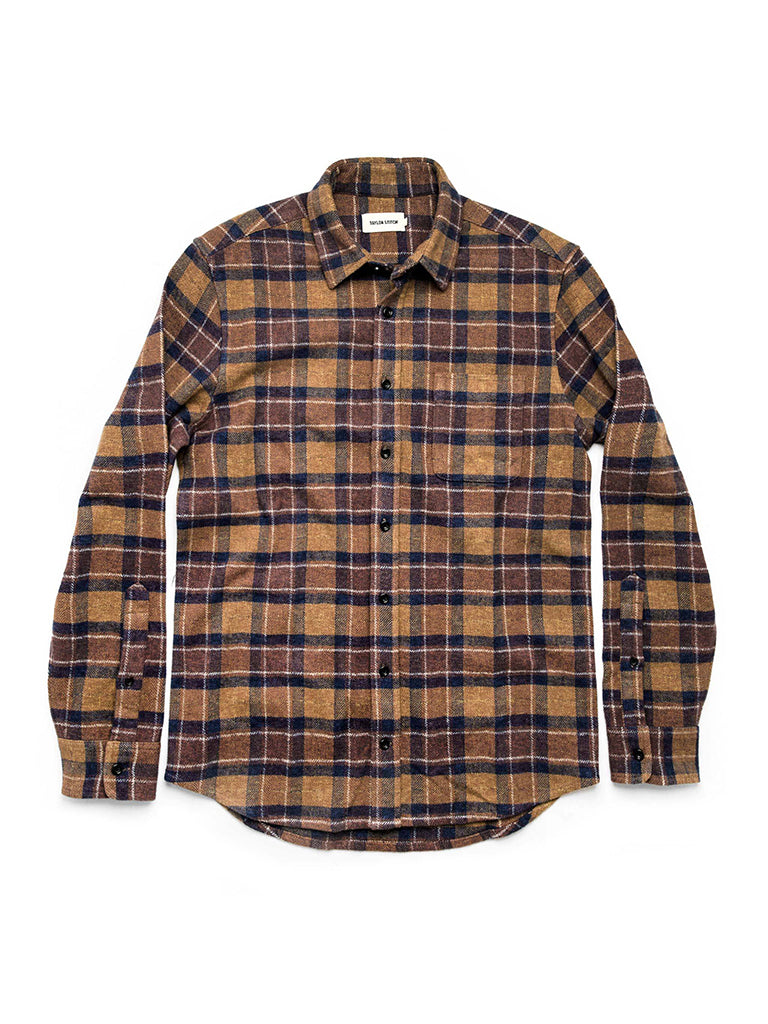 The California in Caramel Plaid