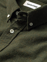 The Jack Shirt- Olive Donegal