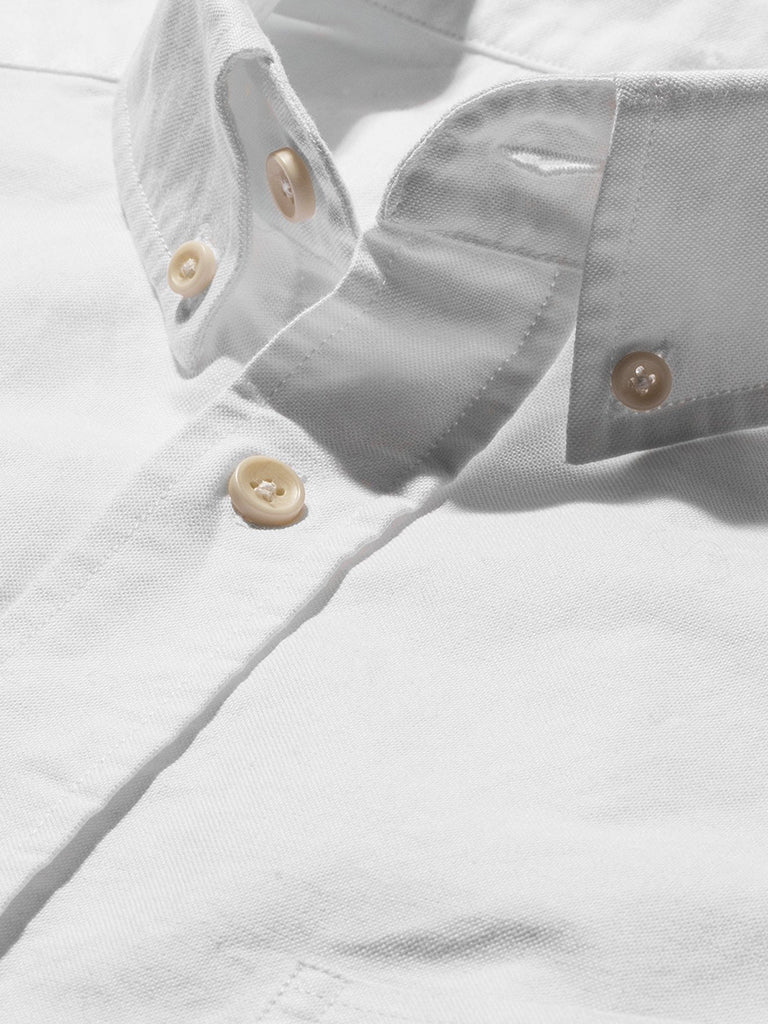 The Jack Shirt- White Everyday Oxford